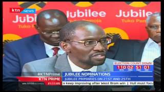 Jubilee party primaries staggered over a period of two days and not a single day as earlier planned