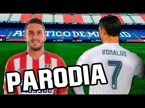 Canción Atletico Madrid vs Real Madrid 0-3 (Parodia Shakira - Chantaje ft Maluma) 2016/2017