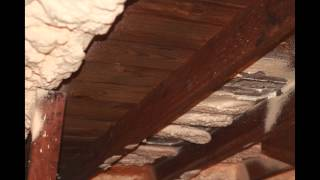 <h5>Before and after attic encapsulation</h5><p>Watch as an attic gets a spray foam insulation renovation.</p>