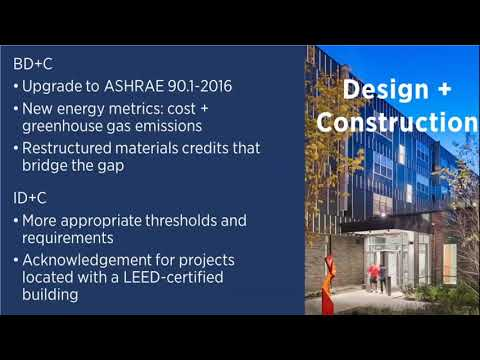 What's Changed in LEED v4.1 for BD+C and ID+C? - YouTube