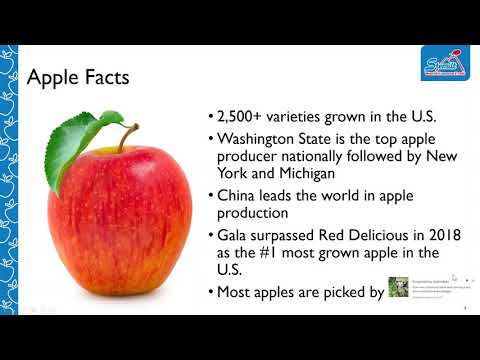 RDBA WEBINAR: Apples: A Crash Course on Varieties, Consumer Purchase Habits, and How to Promote this Popular Fruit