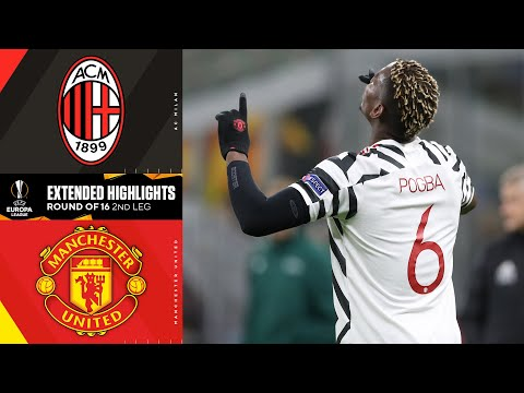 AC Milan vs. Manchester United: Extended Highlights | UCL on CBS Sports