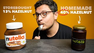 Why Nutella Tastes So Much Better Homemade