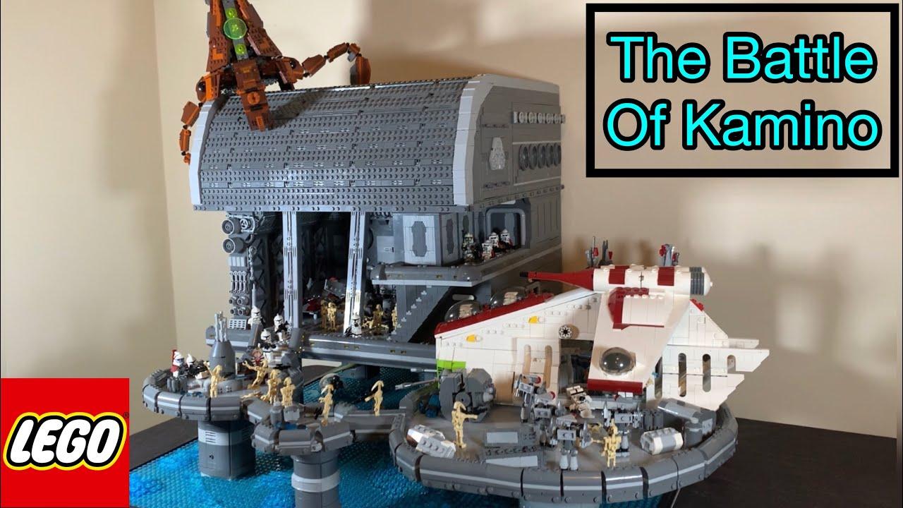The Battle of Kamino- Lego Star Wars Moc Showcase Finale!