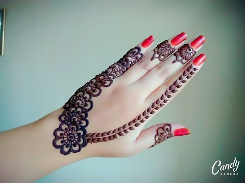 Arabic Henna   Henna Tutorial   Gulf Style Henna   Tattoo Henna   Flower Mehnd - Naush Artistica