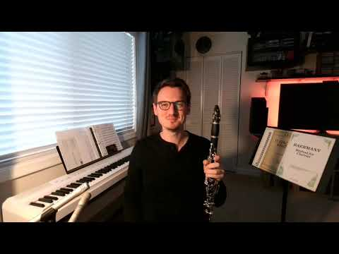 Welcome to my virtual studio! Watch this video to catch a quick glimpse into what it's like to study clarinet with me!