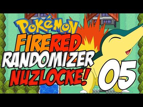 Pokemon Fire Red Randomizer Nuzlocke Part 5 - The Struggle...