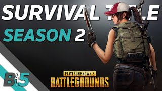 PUBG Survival Title Season 2 | Everything You Need To Know (Xbox One/PS4)