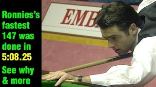 Ronnie O'Sullivan - Historic Moment in Sport & Snooker: 147 in 5:08.25 (Version3 - 720p)