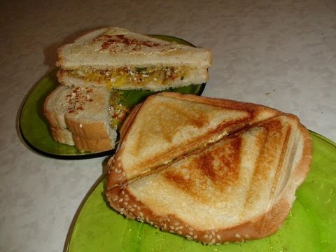 Masala Sandwich (Indian style) Video Recipe by Bhavna