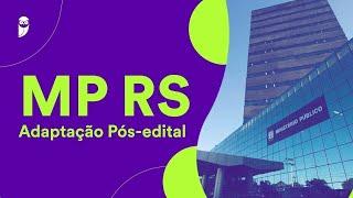 Concurso MP RS Adaptação Pós-edital: Direito Constitucional – Prof. Nelma Fontana