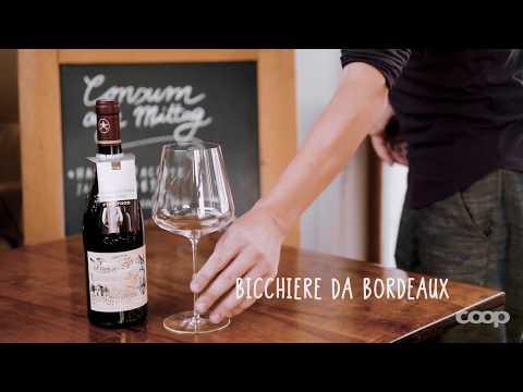 Qual è il bicchiere giusto per i vari tipi di vino?