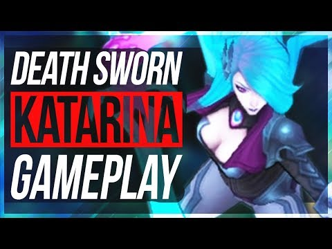 BEST KATARINA SKIN! Katarina w/ New Runes - New Death Sworn Katarina Gameplay - League of Legends