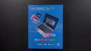 A $100 Windows 10 Laptop/Tablet?   Nextbook Flexx 10