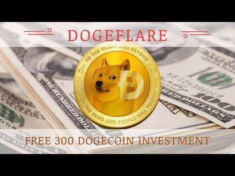 Dogeflare.com отзывы 2018, Doge Mining, обзор, Free 300 Dogecoin бонус за регистрацию