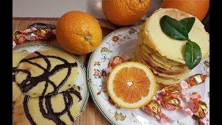 Хрустящие Голландские апельсиновые вафли