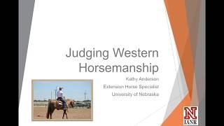 UNL Horse Judging - Western Horsemanship