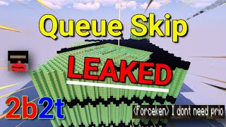 2b2t: How To Skip The Queue For FREE [LEAKED] [WORKING] 01/31/2021