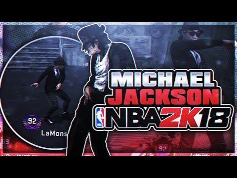 MICHAEL JACKSON ON NBA2K18