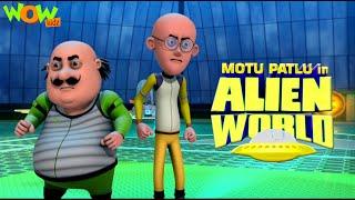 MOTU PATLU movies for KIDS | Motu Patlu In Alien World | Full Movie | Wow Kidz