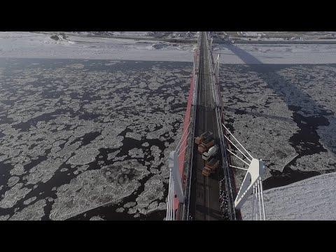 Prvi prekogranični most između Kine i Rusije uskoro otvoren za saobraćaj (VIDEO)