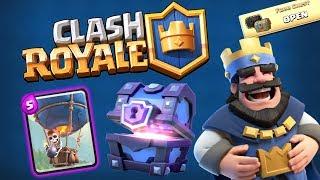 +7 SANDIKTAN BU MU ÇIKAR! (Clash Royale)