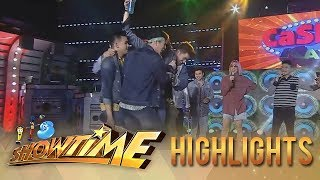 It's Showtime Cash-Ya: Team Boys fails to finish the challenge - Video Youtube