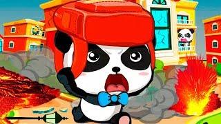 Малыш Панда Попал в Землетрясение.Выручим панду.Спасайся кто Может.Мультфильм Про панду(panda)