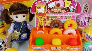Baby Doll Play Doh Food And Food Shop Cooking Toys Play   ToyMong TV 토이몽