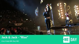 """Jack & Jack   """"Rise"""" (Live From WE Day UK)"""