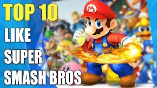 Top 10 games like Super Smash Bros | Similar game to Super Smash Bros