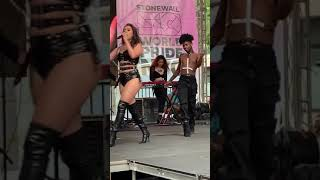 Lauren Jauregui Performing More Than That #NYCPride