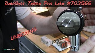 Devilbiss Tekna Pro Lite Unboxing  Part Number 703566  ( With Cup )