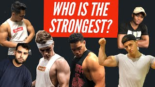 MAXING OUT | WHO IS THE STRONGEST MEMEBER OF LIFESTYLE LIFTERS?