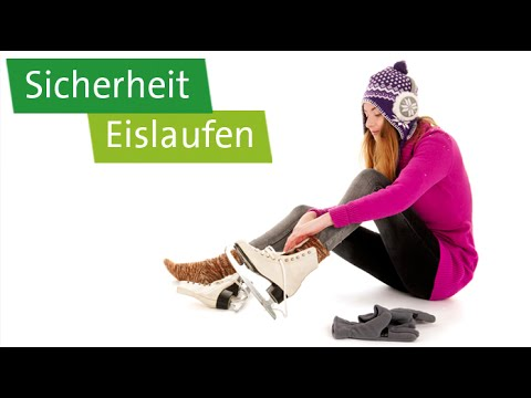 Eislauf-Tutorial: Sicherheit – Schlittschuhe, Handschuhe, Kufen