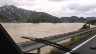 加古川危険水位台風18号マンニィ2013年9月16日