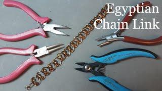 Jewellery Tutorial Egyptian Chain Link Wire Jewellery