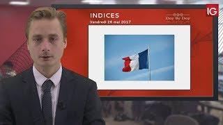 CAC40 Index - Bourse - CAC 40, reprise haussière limitée - IG 26.05.2017