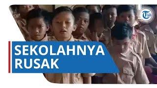 Siswa SDN Samudrajaya 04 Bekasi Buat Video Minta Sekolahnya yang Rusak untuk Diperbaiki