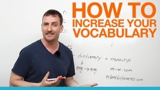 How to increase your vocabulary