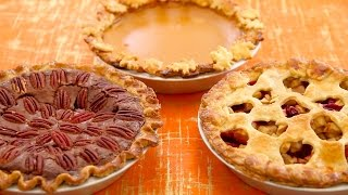 3 Homemade Pies (Pumpkin, Apple, Pecan Fudge) - Gemma's Bigger Bolder Baking