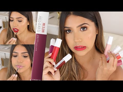 MAYBELLINE SUPER STAY MATTE INK SI SON BUENOS??? - Ydelays