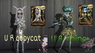 "Priestess ""Golden Future"" & Perfumer ""Madame Coral"" Limited skins gameplay | Identity V |"