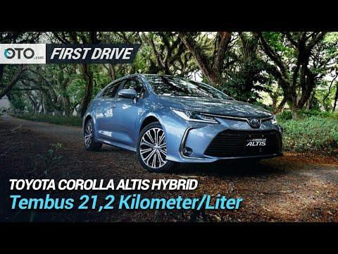 Toyota Corolla Altis Hybrid | First Drive | Tembus 21,2 Kpl | OTO.com