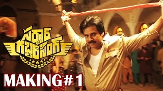 Sardaar Gabbar Singh Making Video 1