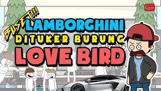 LOVE BIRD 200 JUTA DAN DITUKER LAMBORGHINI