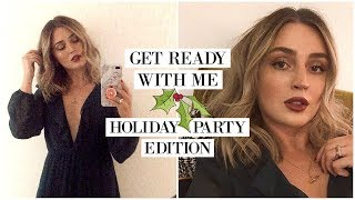 GRWM: My Go-To Holiday Event Look 🎄