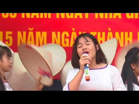 Lễ kỷ niệm 35 năm ngày nhà giáo Việt Nam 20/11 và 15 năm ngày thành lập trường THPT Đường An