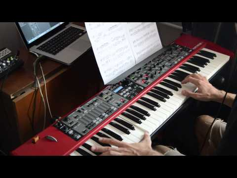 Secret Service – Aux Deux Magots  ( piano cover)