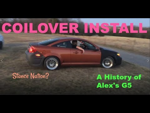 Alex's Modified Pontiac G5 + Coilover Install